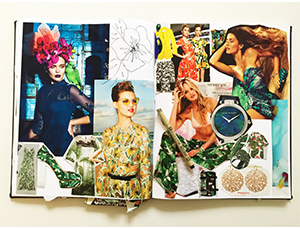 Ceci Johnson's Divinely Tropic Inspiration